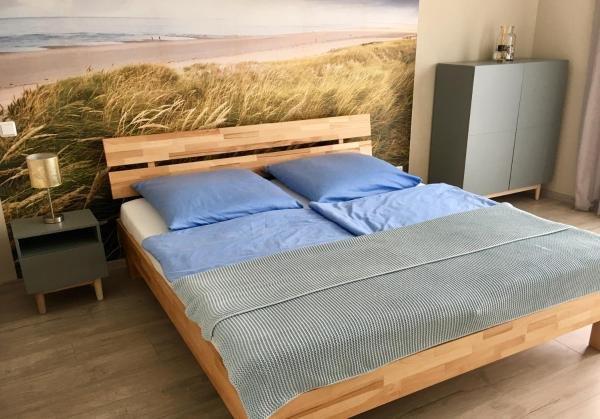 Modernes und schickes 2-Zimmer-Appartement mit Einbauküche und Bad für 3 Persone, aluguéis de temporada em Ingelheim