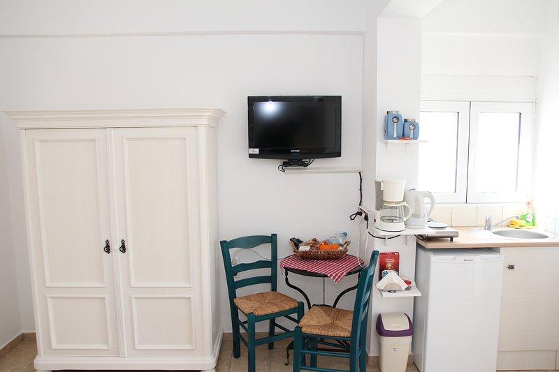 Olympias gemütliches Studio im Herzen von Pitsidia – semesterbostad i Matala