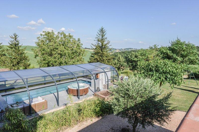 la petite oasis, casa vacanza a Paulhac