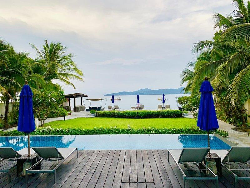 BangTao Beachfront seaview pool, walk to beach! – semesterbostad i Bang Tao Beach