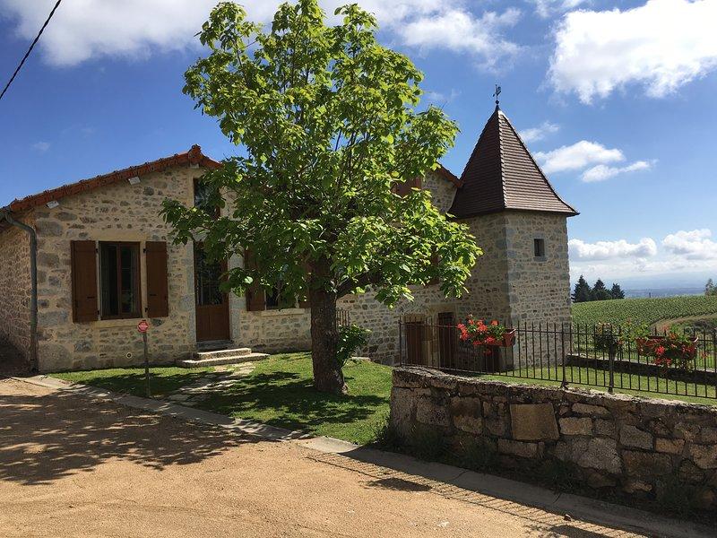 Gite Domaine De La Paroisse, holiday rental in Saint Bonnet des Quarts