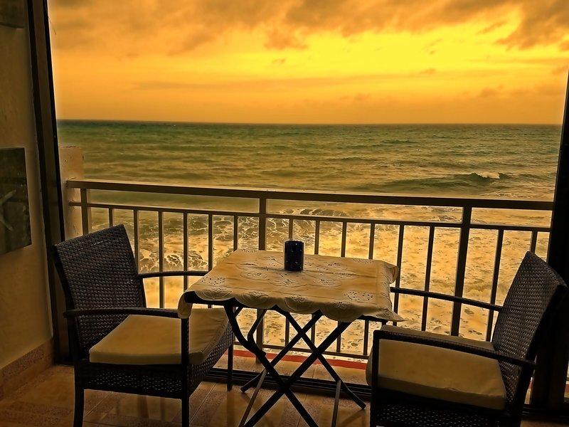 Hermosa vista a la playa