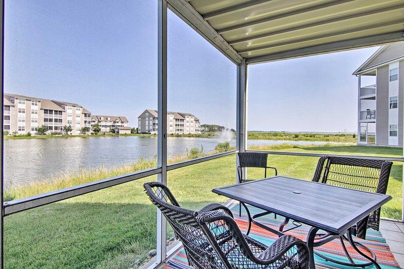 ¡Reserve su escapada costera Deleware a este apartamento de 2 dormitorios y 2 baños!