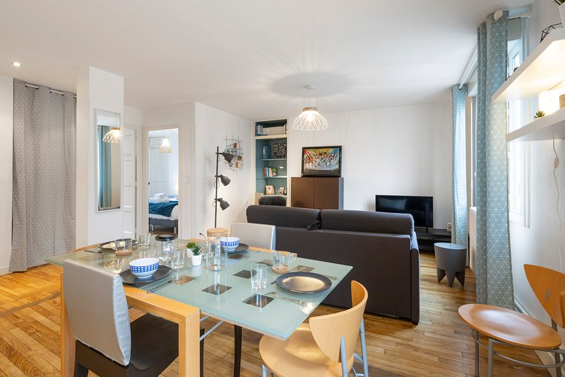 Moka, bel appartement dans le centre, holiday rental in Cesson-Sevigne