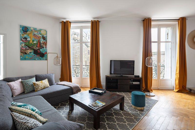 Les Ducs- Chateau des ducs de Bretagne, holiday rental in Bouguenais