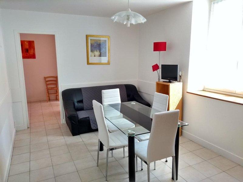 (Apt62) Appartement 2** meublé 5 personnes Proche des Thermes Centre Ville, location de vacances à La Roche-Posay