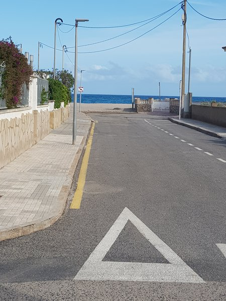 It is the distance from home to the sandy beach. Less than 20 meters. And the entrance is flat.