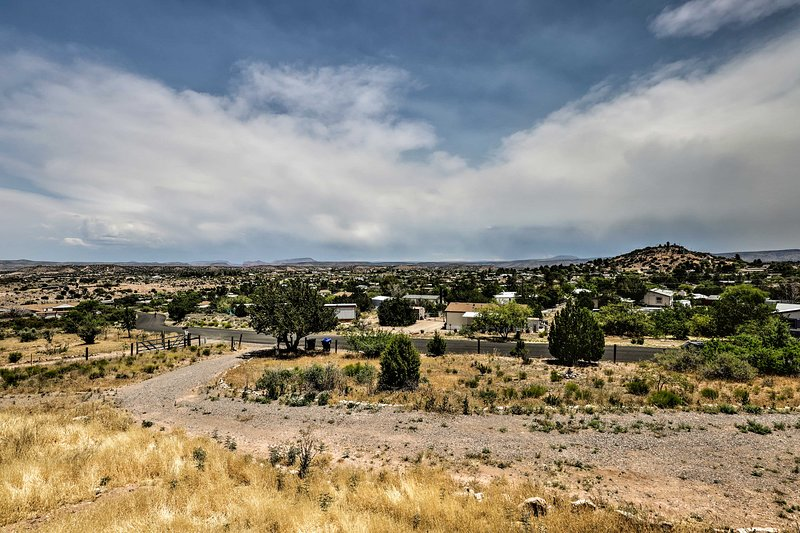 There are multiple hiking trails within minutes of the home.