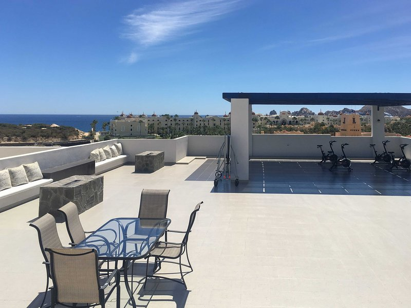 This condo features a community outdoor patio and pool exclusive to the condo!