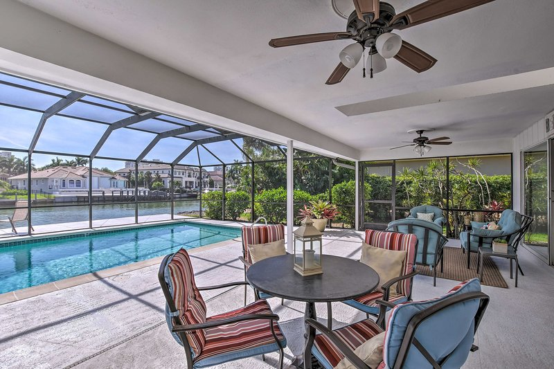 Bayfront Naples Home ~ 1 Mi From Naples Beach, vacation rental in Pelican Bay