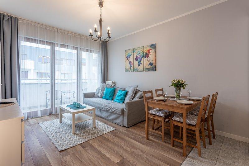 Ambria Apartments Zuza, holiday rental in Swinoujscie