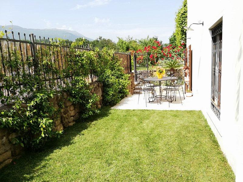 Lovely country flat in vineyards free wifi, alquiler vacacional en Caprino Veronese