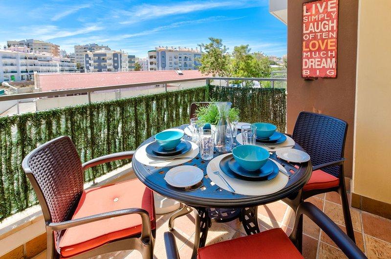Breakfast on the front terrace