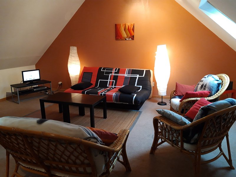Amazing house near the beach & Wifi, holiday rental in Saint Pierre du Mont