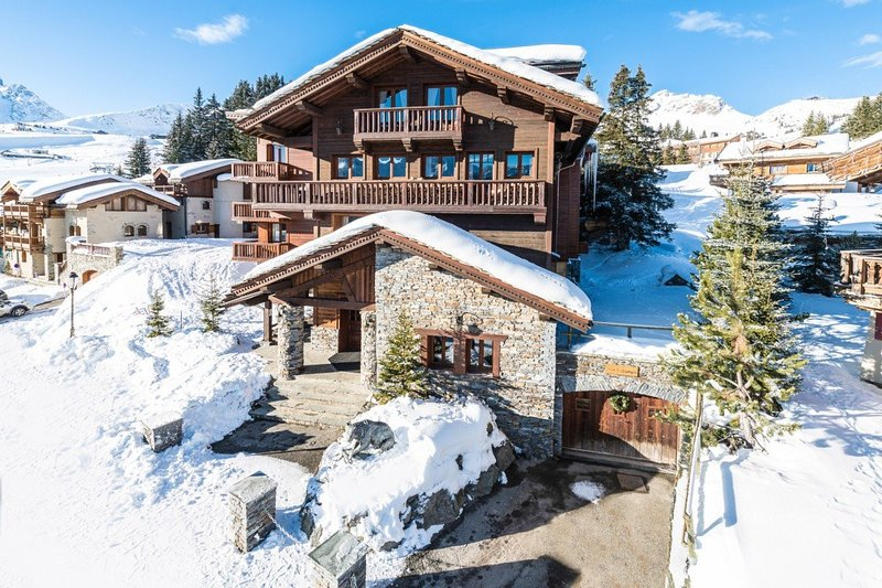 Chalet St Christophe Chalet in Courchevel