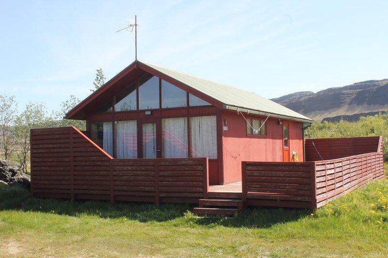 Svartagil 4-Bústaður, holiday rental in Reykholt