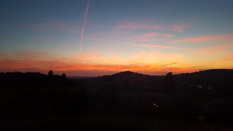 Sunsets from The Lodge are amazing.