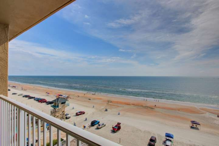 This unit provides 2 private and separate balconies from the 7th floor!