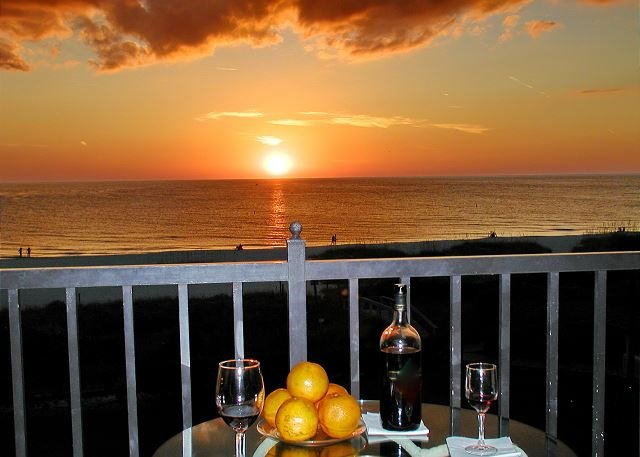 Your balcony/Your sunset :)!