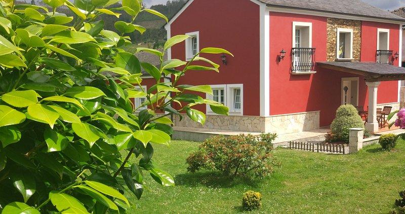 Pousada Carballo Blanco en Barreiros, alquiler de vacaciones en Provincia de Lugo