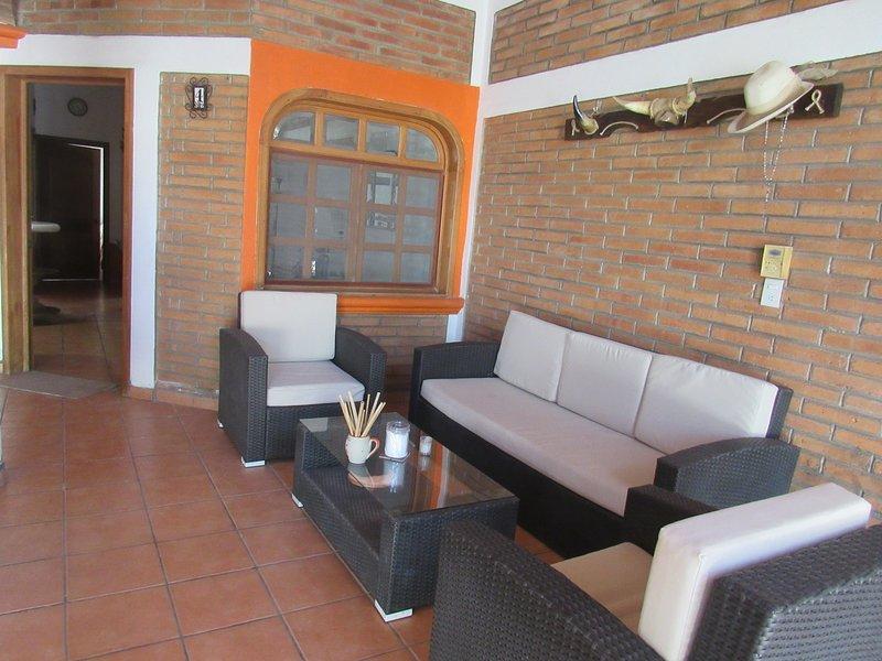 Casita in town Lo de Marcos, holiday rental in Lo de Marcos