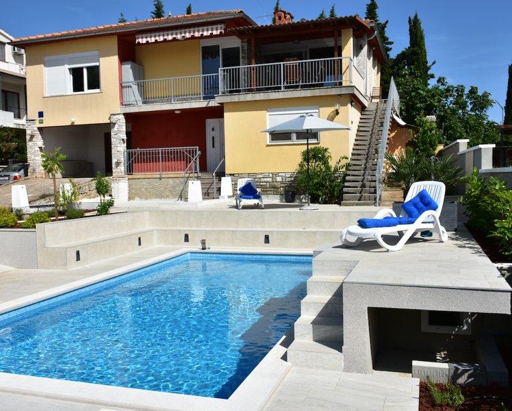 Apartment with pool, Villa Regina, aluguéis de temporada em Pula