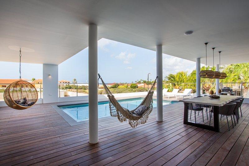 Luxe vakantie Villa Jan Thiel, aluguéis de temporada em Jan Thiel