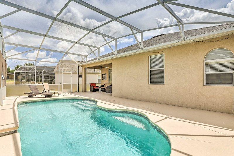 Detta hus i Davenport, Florida har en privat pool!