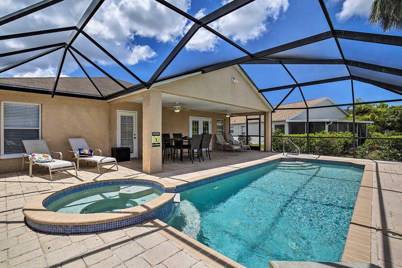 Bradenton Home w/ Lanai & Saltwater Pool/Spa!, location de vacances à Oneco