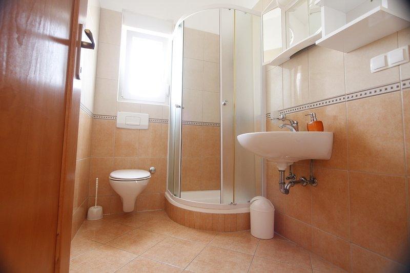 A4 visoko potkrovlje (2 + 2): baño con inodoro