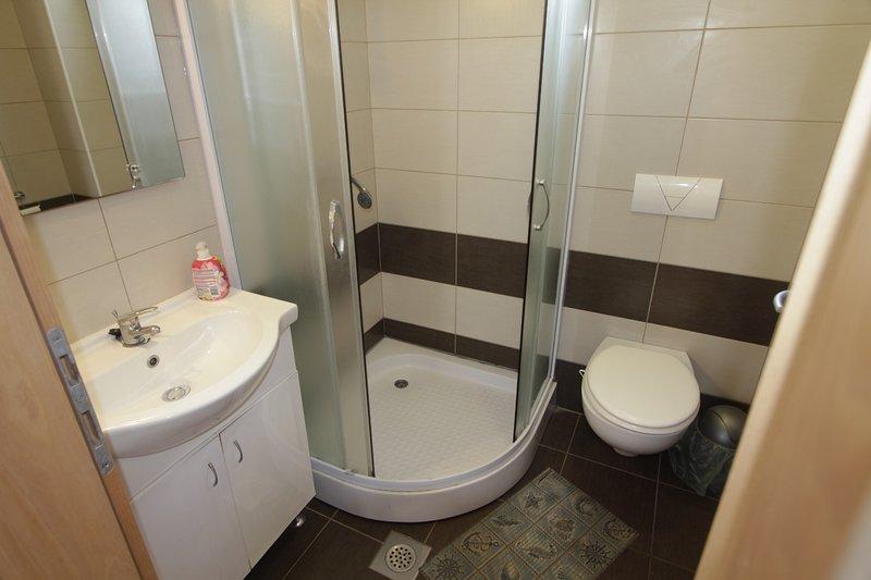 A3 (4 + 2): salle de bain avec toilette