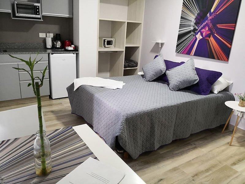 Monoambiente totalmente equipado Nuñez 1er piso, holiday rental in Olivos