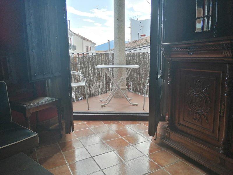 Apartment with mountain view, alquiler vacacional en Santa María del Tiétar
