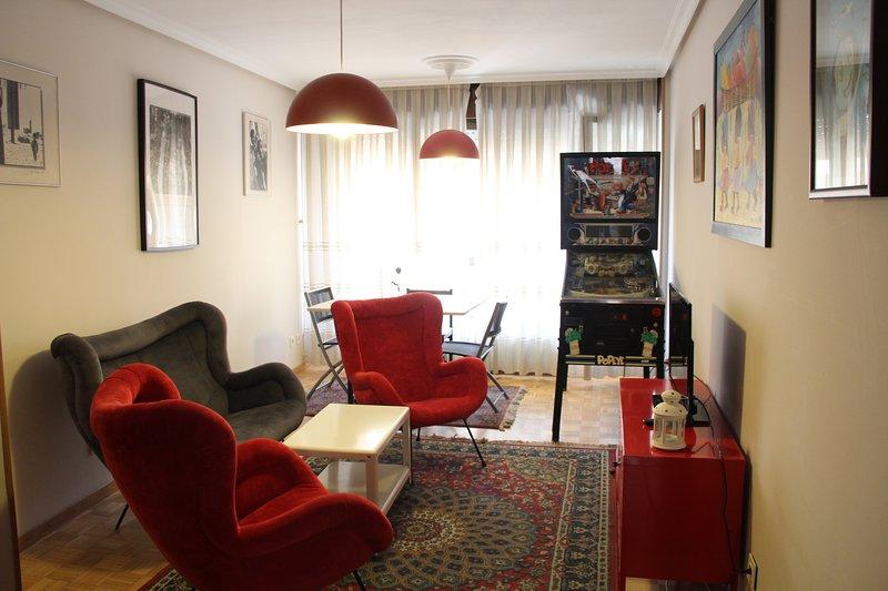 Magnífico apartamento en el centro de Oviedo, location de vacances à Oviedo