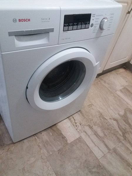 washing machine of two bedrooms apartment