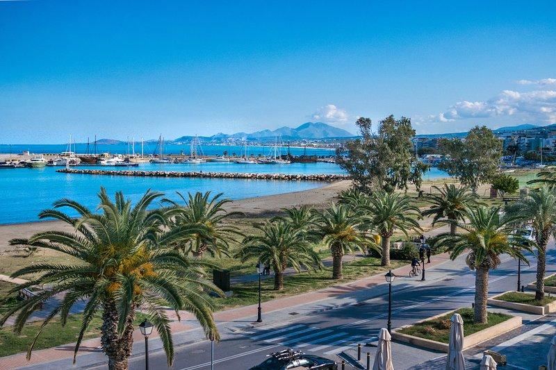 Beach promenade,Town Center,All Amenities, vacation rental in Rethymnon