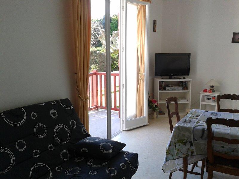 Amazing studio near the beach, alquiler vacacional en Guéthary (Getaria)