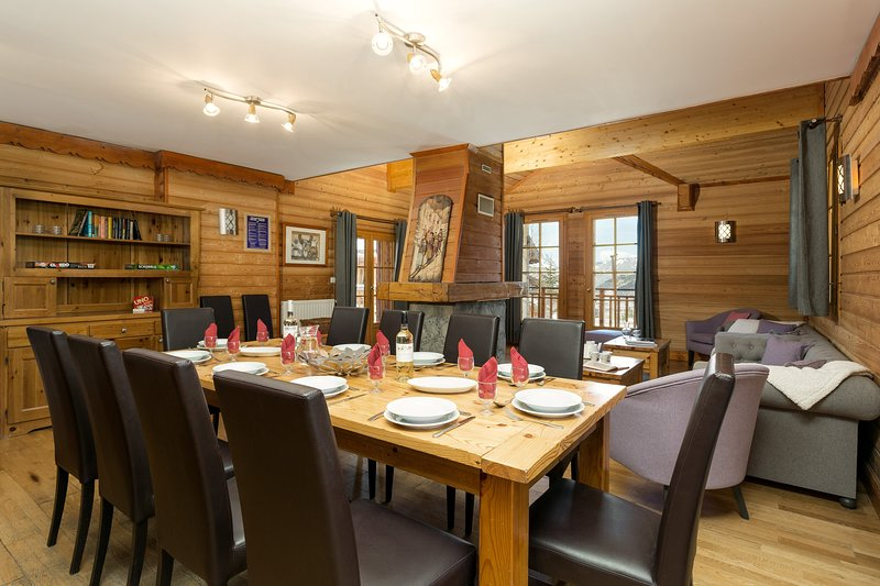 Welcome to our wonderful mountain chalet!