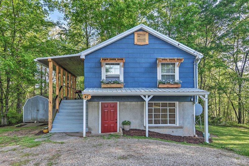 Cozy Candler Cottage - 11 Mi to DT Asheville!, holiday rental in Candler