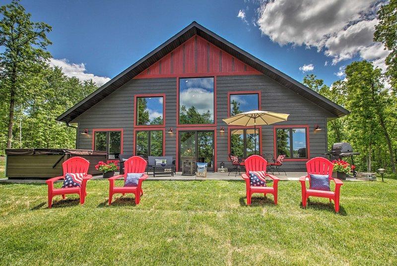 ¡'Freeman's Lodge' es tu destino de ensueño junto al lago en Minnesota!