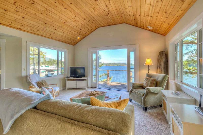Mariner's Dream (All Dream Cottages) Mesmerizing, Waterfront, Orcas Island, WA, casa vacanza a Olga