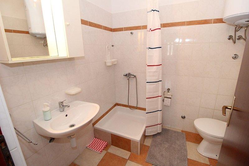 A4-veliki (4 + 2): badkamer met toilet