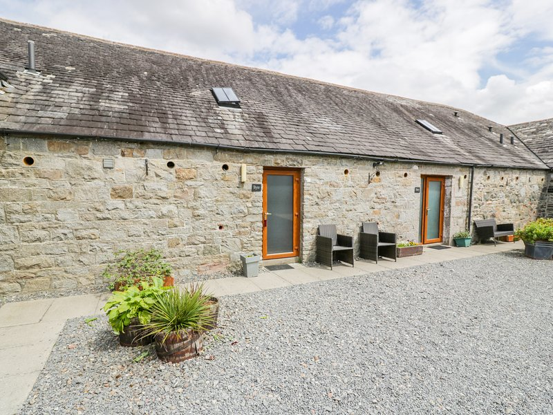 THE BYRE, pet-friendly cottage, off road parking, ideal for families, near, vacation rental in Newton Stewart