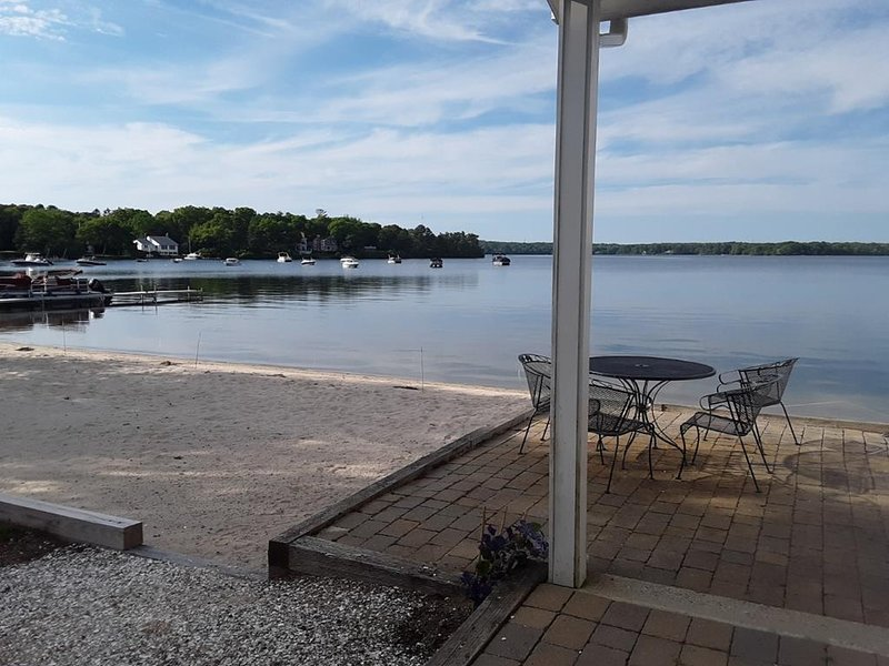 LAKEFRONT PARADISE with PRIVATE SANDY BEACH!