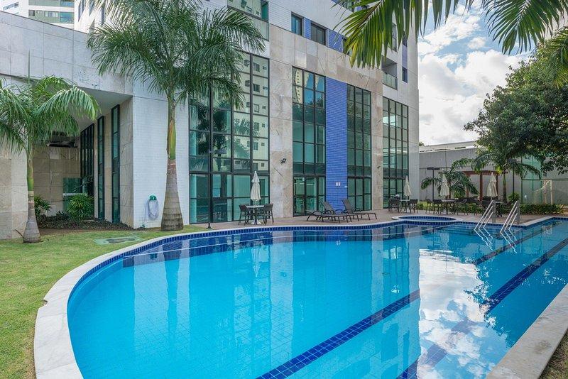 SPR1301 Ótimo Flat no Rosarinho, cercado de bons restaurantes, a um passo do Par, Ferienwohnung in Recife