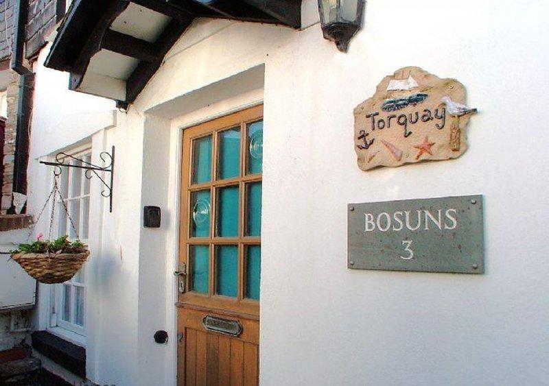 Bosuns Cottage, holiday rental in English Riviera