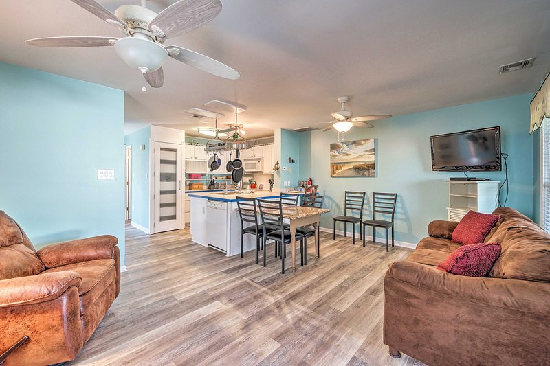 Head to Kure Beach and stay at this vacation rental!