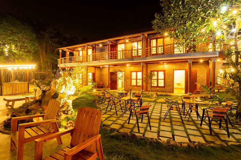 Tam coc lavender homestay_Deluxe Family/twin  roomco, casa vacanza a Ninh Thang