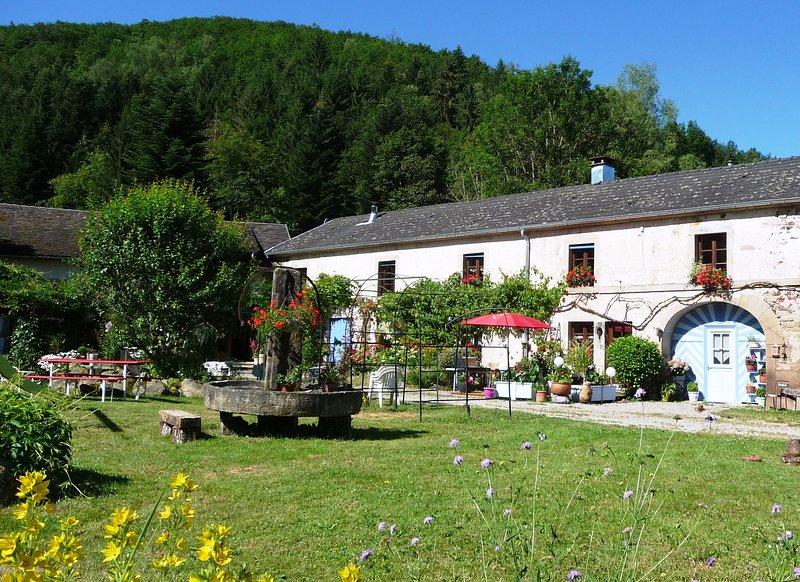 Le Moulin de Saphoz, holiday rental in Ronchamp