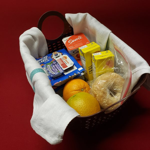 Free continental breakfast in unit. Representative photo - exact items subject to availability.